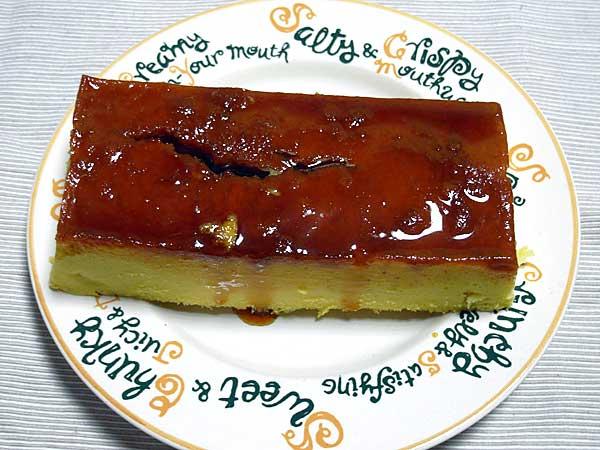 サツマイモのプリンケーキ