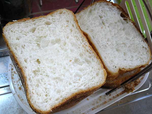 昨日の食パン