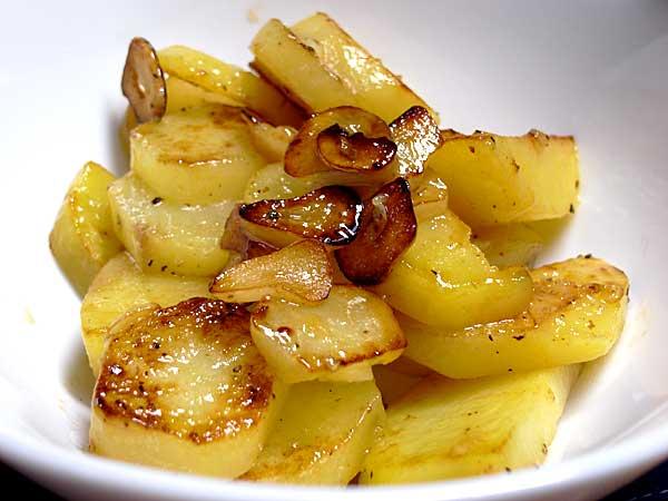 馬鈴薯の大蒜焼き